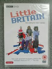 LITTLE BRITAIN  - THE COMPLETE FIRST SERIES - DVD - (NEW & SEALED)