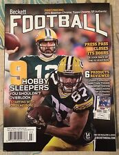AARON RODGERS BECKETT FOOTBALL MAGAZINE  JORDY NELSON GREEN BAY PACKERS MAR 2015
