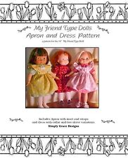 My Friend Doll Dress and Apron Sewing Pattern  ~ Simply Grace Designs