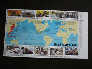Stamps - USA - Scott# 2981 - Souvenir Sheet