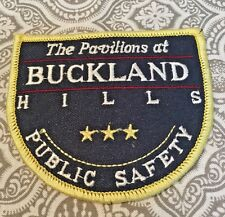 """Security Patch 3 1/2 x 3""""  Pavillions at Buckland Hills Mall Cop Cosplay #269"""