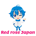 Red rose Japan