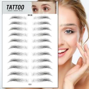 Eyebrow Tattoo Sticker False Eyebrows Waterproof Lasting Makeup Tools Stickers