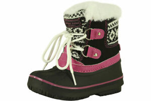 London Fog Toddler Girl's Lil Tottenham Water Resistant Boots Shoes