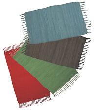 Webteppich Teppich ABANO Läufer Baumwollteppich Flickenteppich Fleckerlteppich