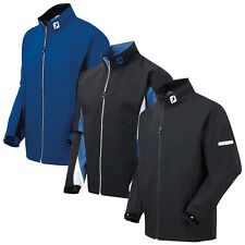 FootJoy Mens HydroLite Full Zip Waterproof Rain Jacket FJ Sports Golf Coat