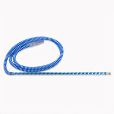 The 75'' Laser Blue Washable Hookah Hose Lounge Hookah Hose with a Long Handle