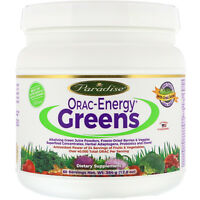 Paradise Herbs ORAC-Energy Greens 12 8 oz 364 g Dairy-Free, Gluten-Free,