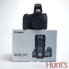 CANON EOS 70D 20.2 Mega Pixel APS-C Reflex Digitale Solo Corpo