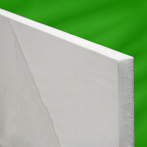 White PVC uPVC Flat Infill Door Panel  780mm X 950mm. Cut to size free of charge