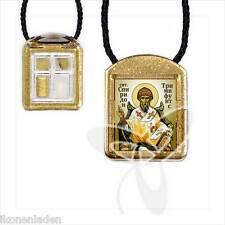 Ladanka vierteilige geweiht  Hl. Spiridon Спиридон Тримифунтский ладанка