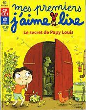 MES PREMIERS J'AIME LIRE sans CD * Le secret De Papy Louis ° 60 * CP / CE1