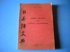 MARIO SCALISE - CORSO PRATICO DI LINGUA GIAPPONESE 1966