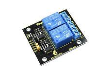 Keyestudio 5V 2 Channel Relay Module KS-057 250V AC 30V DC Flux Workshop