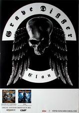 GRAVE DIGGER - 2008 - Tourplakat - In Concert - Clan - Tourposter