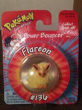 Pokemon FLAREON # 136 Power Bouncer Hasbro Pocket Figure In Ball MOC NEW