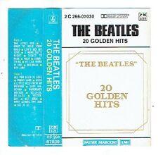 The BEATLES K7 CASSETTE Audio 20 GOLDEN HITS - PATHE MARCONI 2C266-07030 RARE