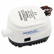 Boat Automatic Submersible Bilge Pump 12V 750GPH  Auto with Float Switch Seaflo