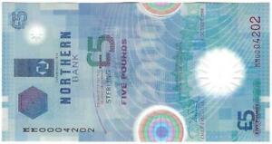 1999 £5 Polymer Banknote - Northern Bank Ltd. A/UNC