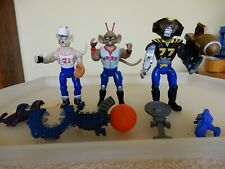 Biker Mice from mars - Sports Bros - Vinnie, Throttle and Modo with accessories