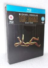 The Game (Blu-ray, Steelbook) Michael Douglas, Sean Penn