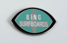 Classic Surf Logo Bing Surfboards enamel pins