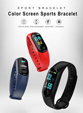 Smart Band Watch Bracelet Wristband Fitness Tracker Blood Pressure HeartRate. M3
