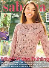 SABRINA Strickjournal Januar - Dezember 2017  Ausgaben - Auswahl - Strickhefte