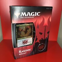 Magic The Gathering Rakdos Guild Kit 60 Card Deck 5 Double Sided Tokens NIB