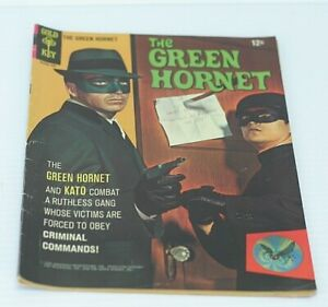 The Green Hornet #1 1967 Van Williams Bruce Lee Cover Photo  Comic Book