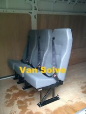 Van triple rear seat conversion, all makes, inc. fitting