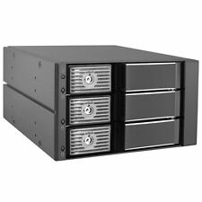Kingwin SSHD Hard Drive Enclosure Internal Three Hot Swap Bay Mobile Rack for 3