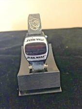 VINTAGE 1977 STARWARS MICROELECTRONIC DIGITAL WATCH ORIGINAL BOX TEXAS INSTRURME