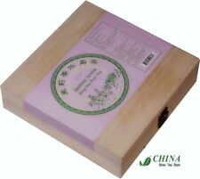 Chinese Jasmine Aroma Bing Dao Ancient-tree Puer Cake Tea