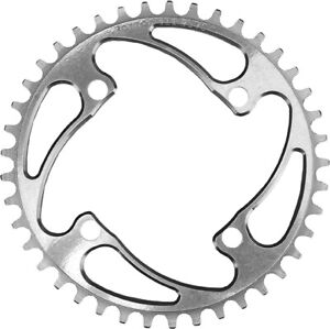 Rennen BMX Race Chainring - 104 4 Bolt Chainring - Polished - Various Sizes