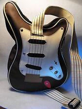 GUITAR SHOULDER BAG GUITAR SHAPED LARGE BAG / HOLDALL ROCK THEME SHOULDER BAG