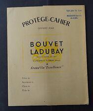 Protège cahier publicitaire BOUVET LADUBAY Saint-Hilaire-Saint-Florent