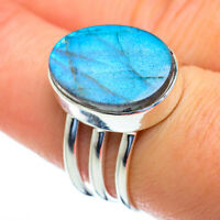 Labradorite 925 Sterling Silver Ring Size 8 Ana Co Jewelry R47206F