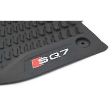 Original Audi SQ7 (4M) Gummi Fußmatten vorn Gummimatten Allwettermatten schwarz
