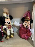 Disneyland 50th Anniversary Plush MICKEY and MINNIE MOUSE Parade Plush With Tags