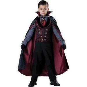 Midnight Count Dracula Costume, Child, Vampire Victorian Sz 14 InCharacter