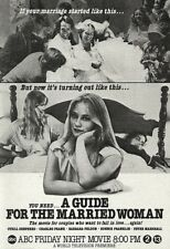 1978 Tv movie Ad CYBILL SHEPHERD in A Guide for the Married Woman~ABC promo