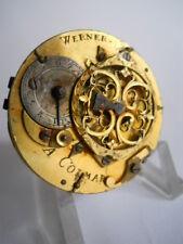 WERNER / A COLMAR VERGE FUSEE, FOR PARTS, mehanizem, Spindeluhrwerk #17-25.01