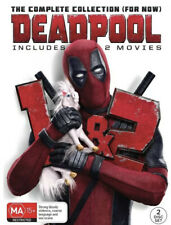 DEADPOOL COLLECTION DVD NEW & SEALED- FREE POST! REGION 4