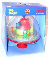 LBZ Top Toupie Bolz Kreisel Peyo SMURFS SPINNING TOP Smurf Figure Set MB`83 RARE