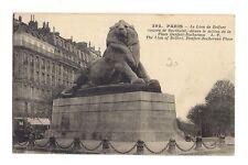 PARIS le lion de belfort (a0116)