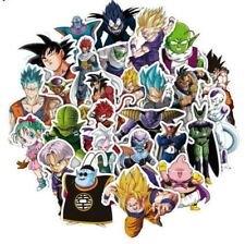 Dragon Ball Z Decal Stickers Assorted Lot of 36 Pieces