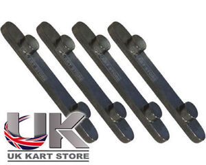 TonyKart / OTK / Senzo Pegged Axle Key Way 8mm x 34mm Pack of 4 Go Kart