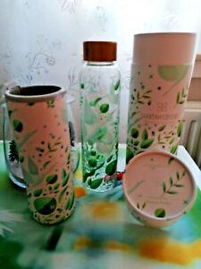 waterdrop ® Glasflasche Flasche Artwork by Nature Press Limited Edition  NEU