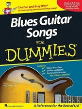 Blues Guitar Songs For Dummies Book *NEW* Sheet Music, Easy And Fun, 35 Songs